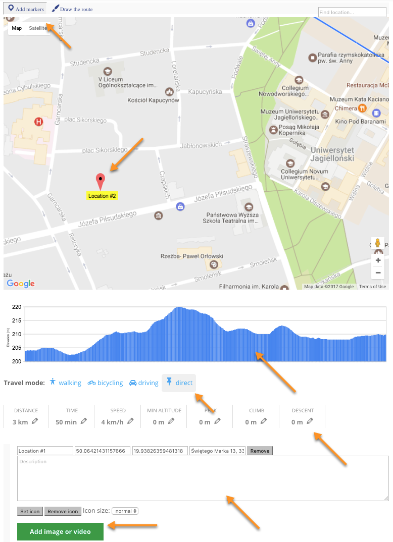 CM Maps Route Manager (CMMRM) - Adding Route Locations Markers ... Draw Map Route on