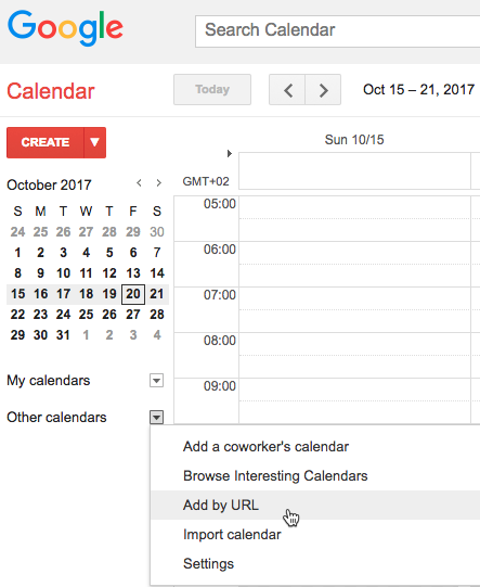 Appointments iCal Sync Integration - How to Export the iCal