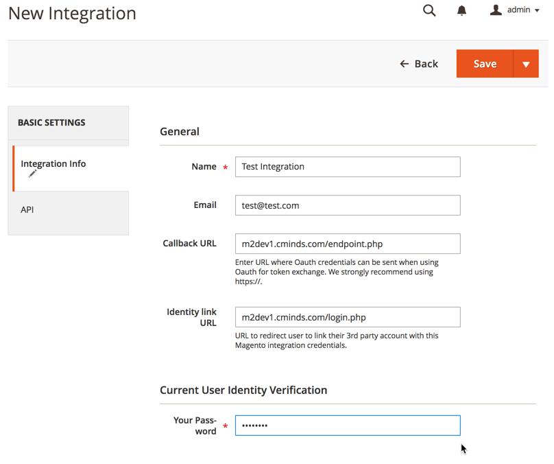 Multi User Magento 2 - API Installation (restAPI