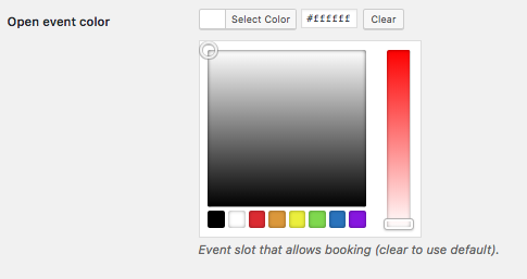 Appointments Booking Events - How To - Change Event's Visual
