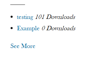 CM Download (CMDM) - Getting Started - Placing the Download