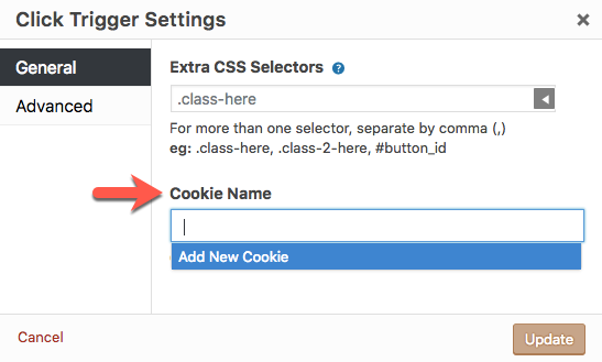Cookies' option settings - Popup Maker Documentation