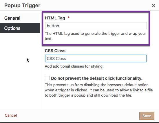 Shortcode: Popup Trigger - Popup Maker Documentation