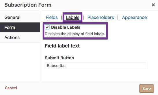 Shortcode: Subscription Form - Popup Maker Documentation