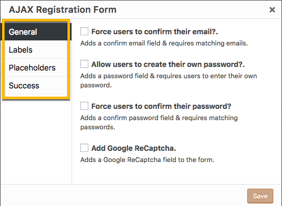 Shortcode: AJAX Registration Form - Popup Maker Documentation