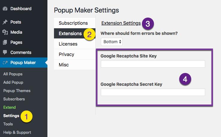 AJAX Login Modals -- Add Google reCaptcha to Your