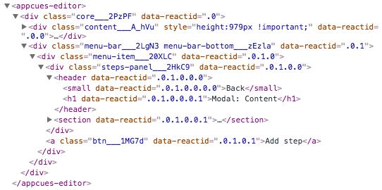 Manually Build CSS Selectors - Appcues Docs