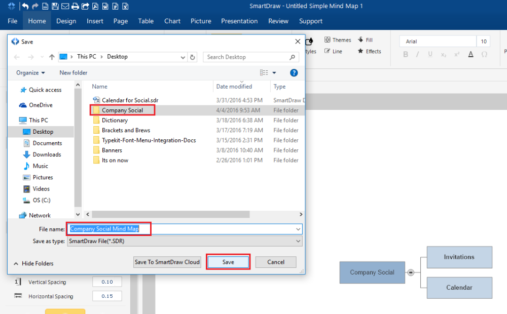 sharing files with hyperlinks smartdraw for windows