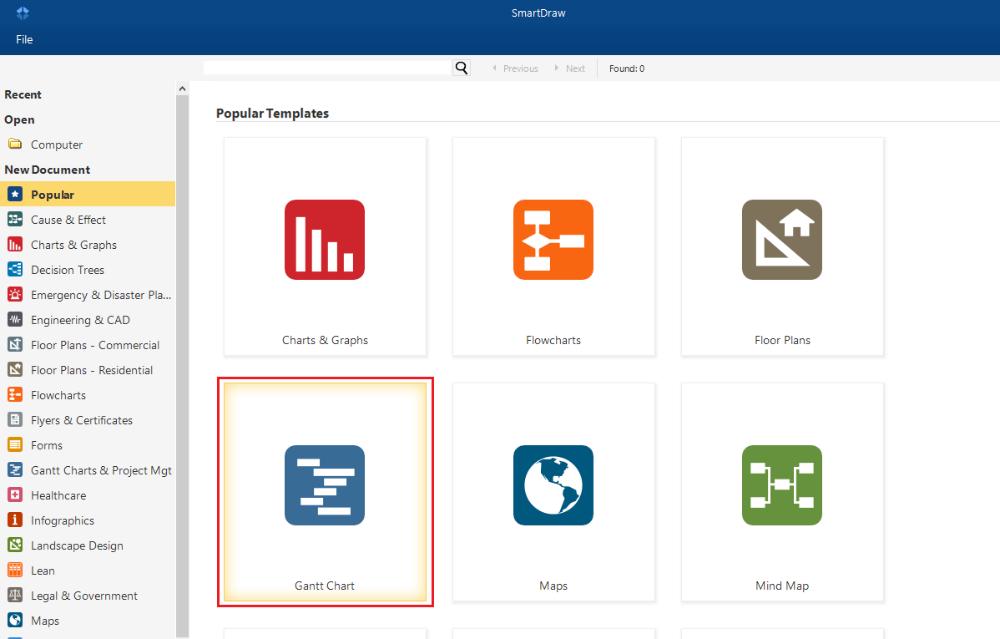 Multi Page Gantt Chart Smartdraw Software Knowledge Base