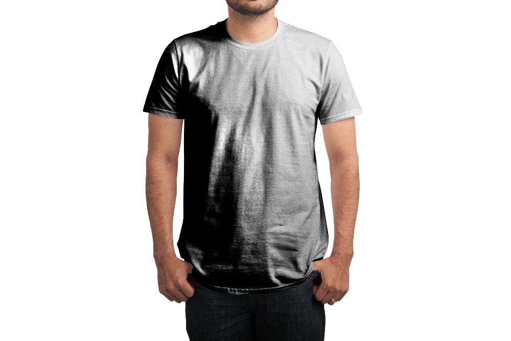 Mens High Neck T Shirt