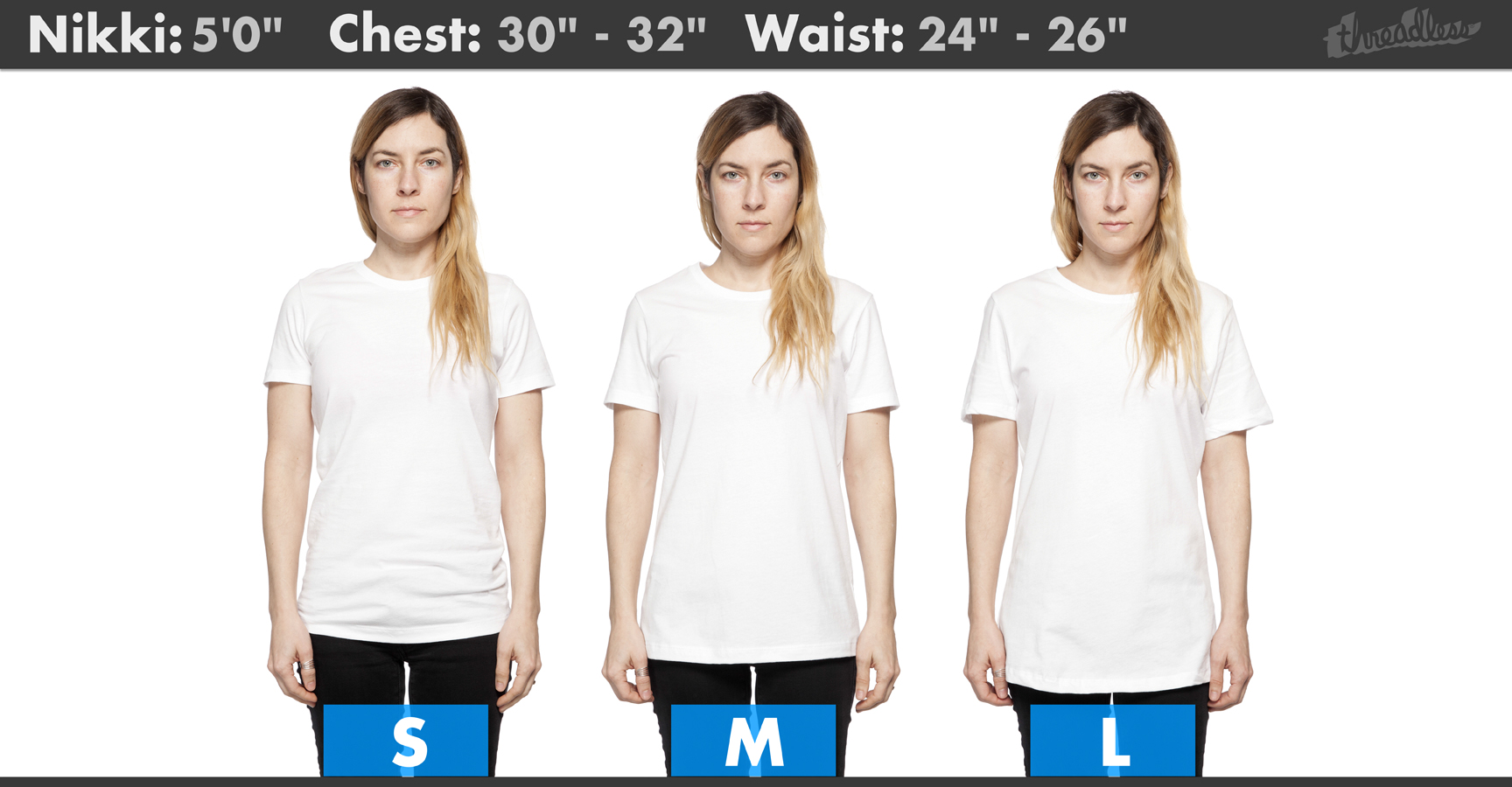 de3331c9 The tees shown below are the Mens / Unisex regular tee and the Womens  Fitted Tee and you can see the size chart for each style on your Artist  Shop product ...