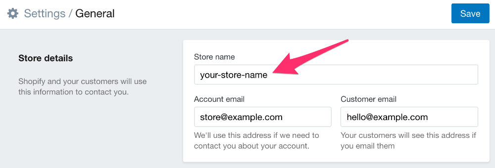 How can I find my Shopify Storefront Address? - Craftybase