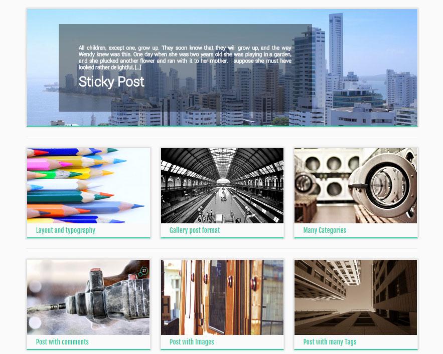 Customizr Theme Options Post Lists Blog Grid Archives