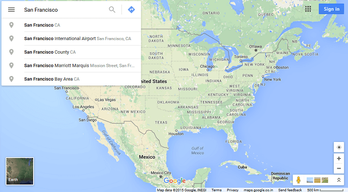 Integrating a Google Map of your Headquarter in the footer ...