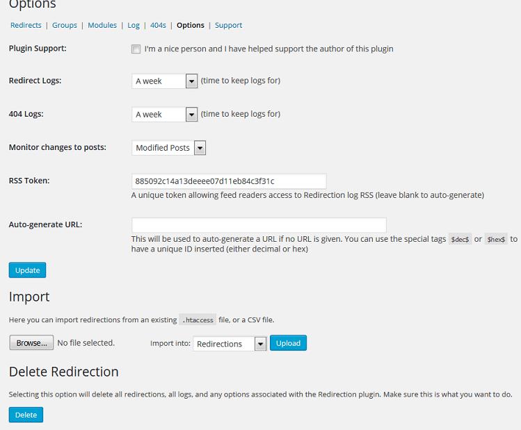Redirecting a Page Using a WordPress Plugin - Press Customizr ...