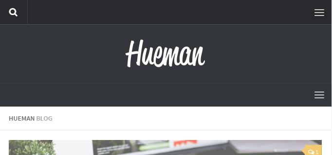 Managing the header menus in the Hueman theme - Press