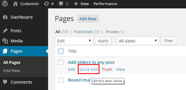 How to enable / disable comments in pages in WordPress ? - Press