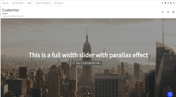 Creating a slider with the Customizr WordPress theme - Press