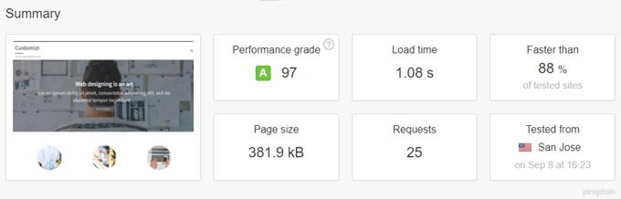 Speed up the Customizr WordPress theme : how to setup W3