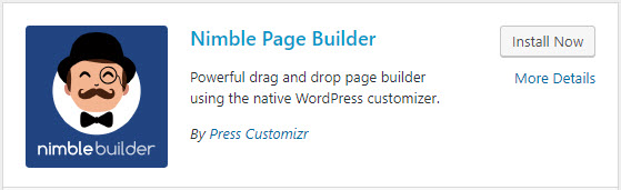 Getting started with Nimble Page Builder for WordPress