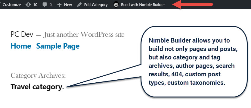 Getting started with Nimble Page Builder for WordPress - Press