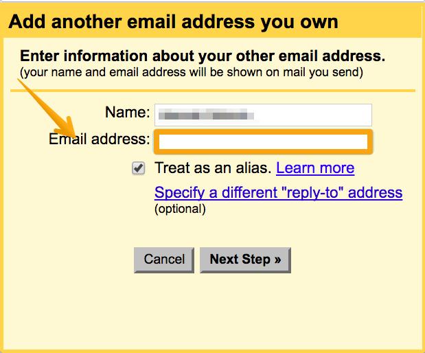 Configuring an alias on Google Apps account - Help Woodpecker co