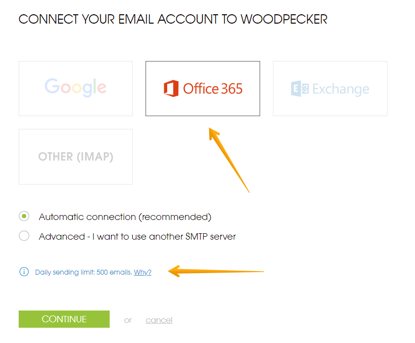 How to connect Microsoft Office 365 email account to