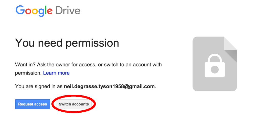 Gmail sign in another account