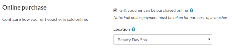 create a gift certificate online