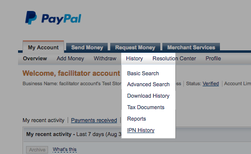 How to restore expired online payments (PayPal) - Timely