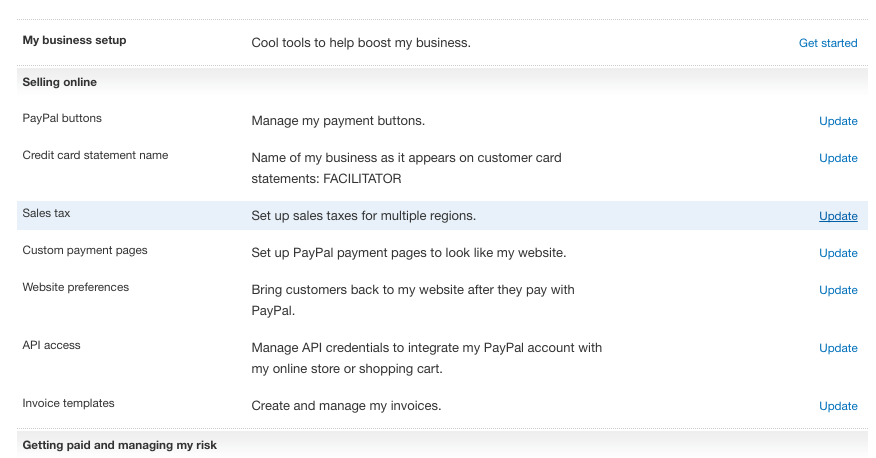how to update your paypal settings timely help docs