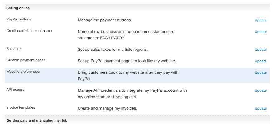 How to update your PayPal settings - Timely Help Docs