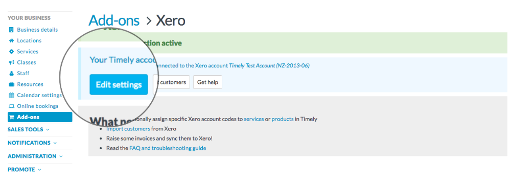 How To Set Up The Xero Integration Timely Help Docs - Xero invoicing add on