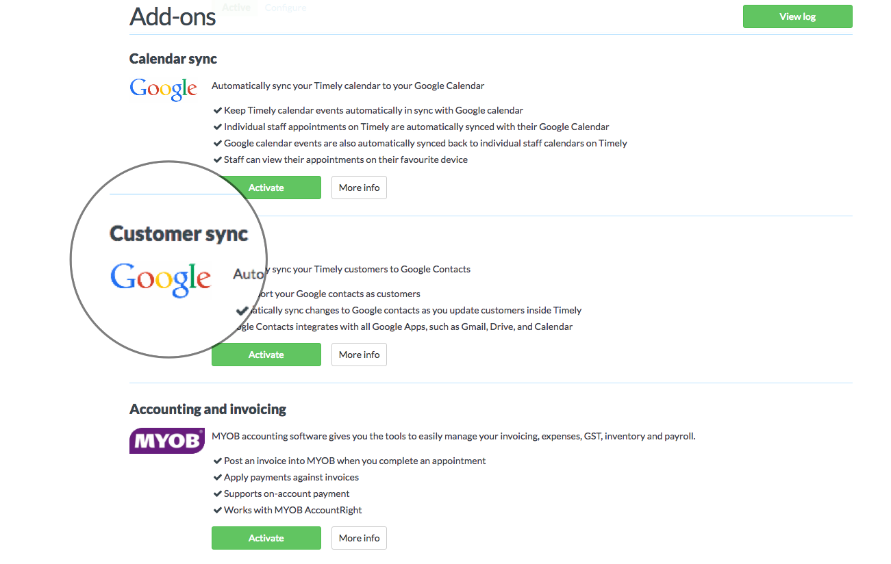 Integrating Timely with Google Contacts - Timely Help Docs