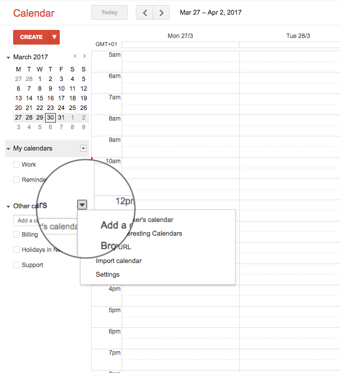 Add your Timely calendar to Google Calendar (Push only