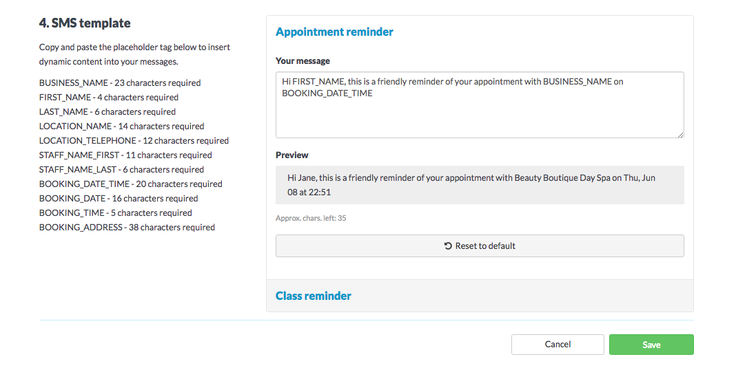 How To Send Automated Appointment Reminders Timely Help Docs
