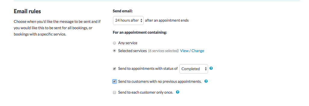 How to send automated follow-up messages - Timely Help Docs
