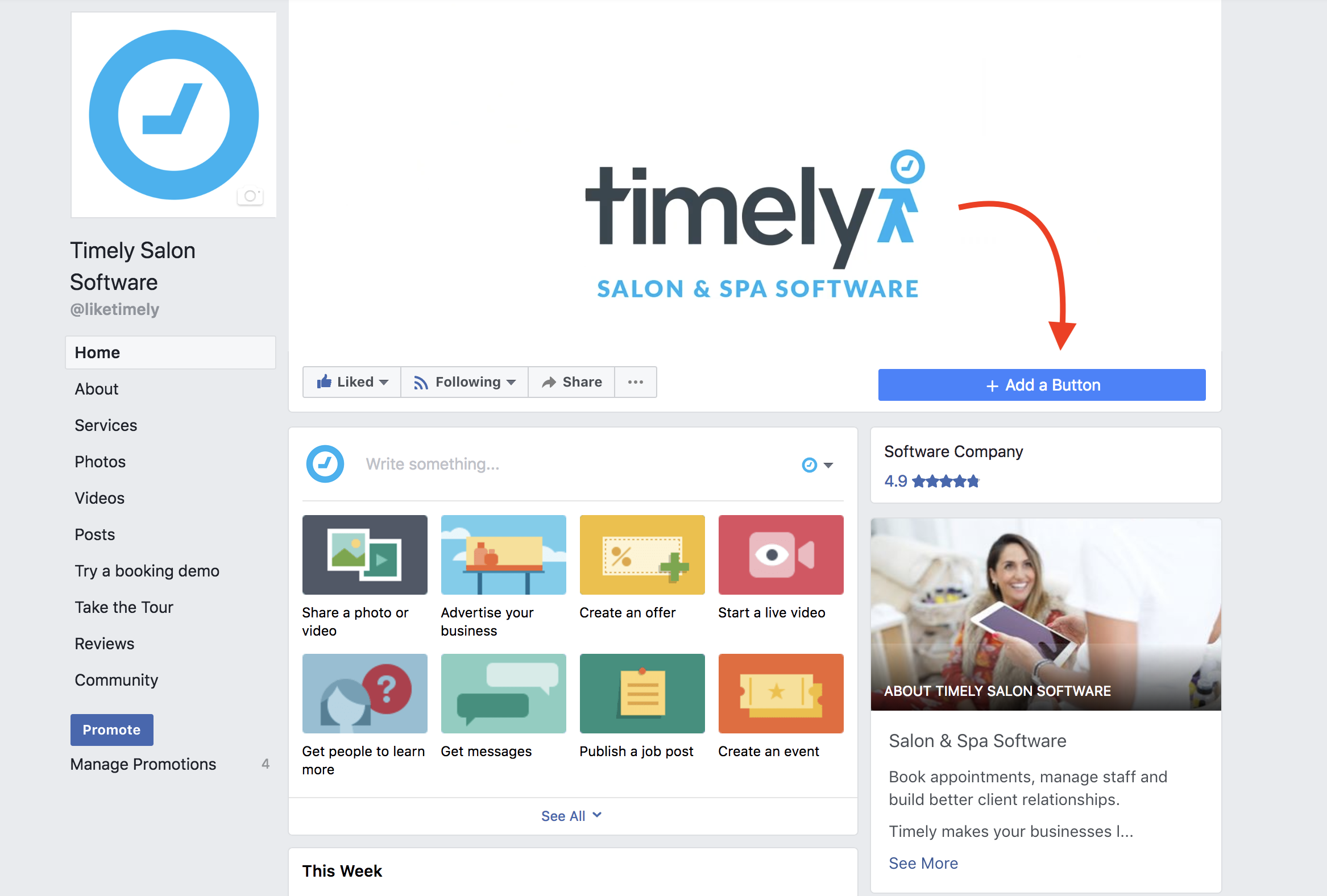 How to add Timely to your Facebook Page - Timely Help Docs