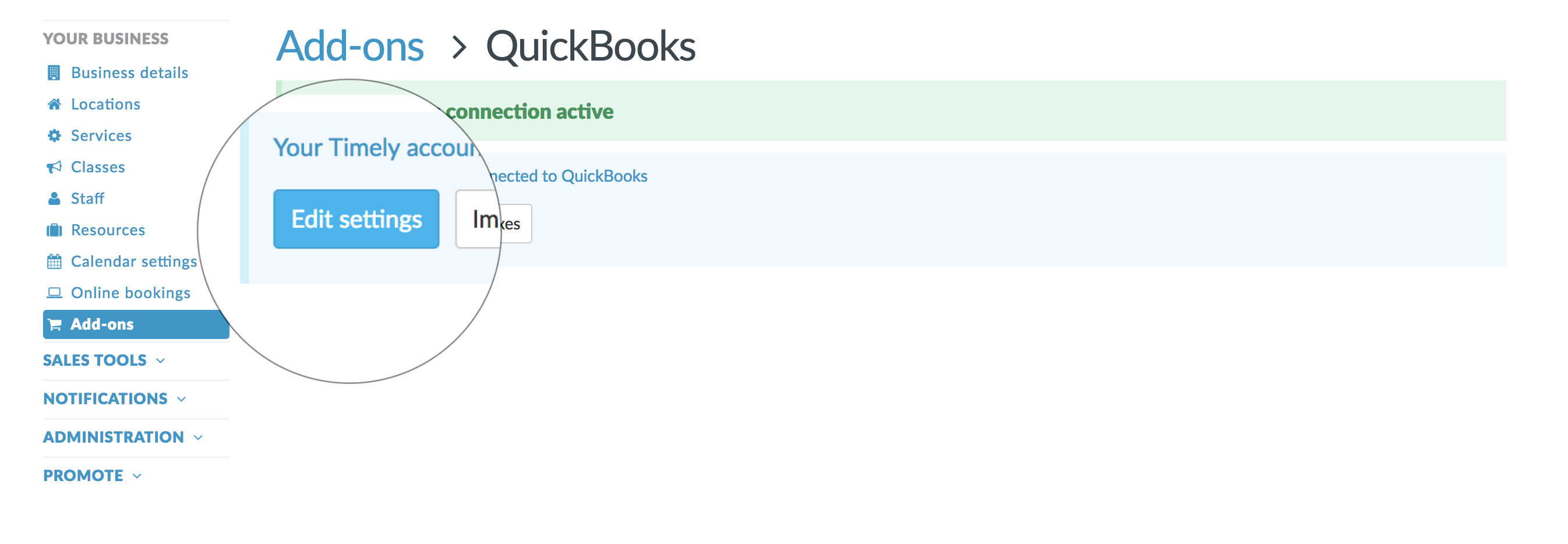 How To Adjust Your Quickbooks Online Settings Timely Help Docs - Quickbooks invoice online