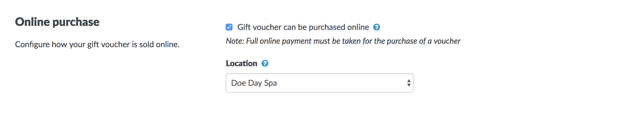 how to create gift vouchers timely help docs