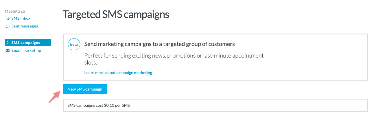 How to send a Targeted SMS marketing campaign - Timely Help Docs