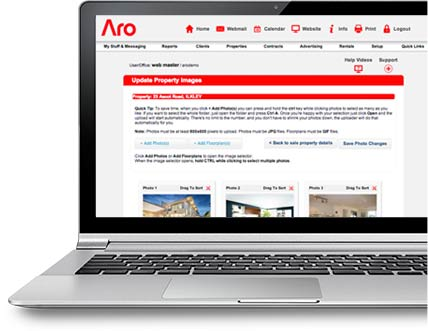 Aro Software Real Estate CRM Features