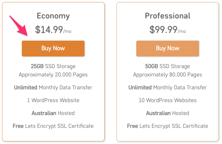 Managed Hosting in Australia for WordPress websites and real estate agents