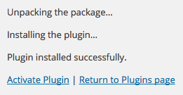 Activate the Plugin
