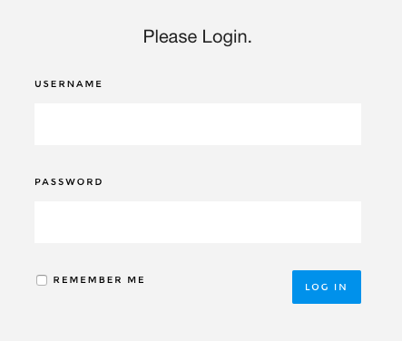 Please Login