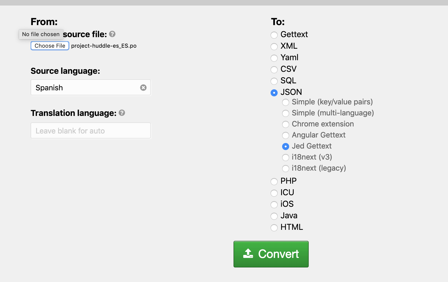 How do I translate ProjectHuddle into my language? - Project