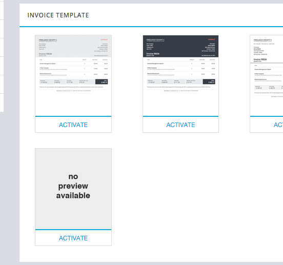 Custom Invoice Template Freelance Cockpit Knowledge Base