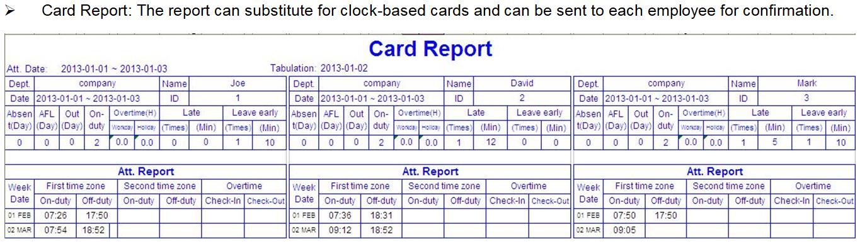 C210 - 6 Report Management - ClockRite Support