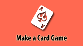 How to Make a Card Game at The Game Crafter