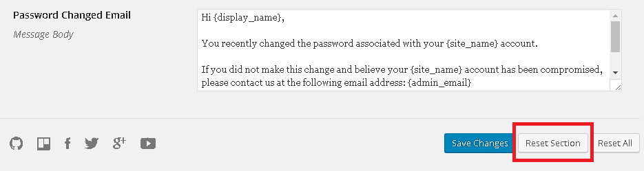 Why does the welcome email sent to users have a blank password field ...